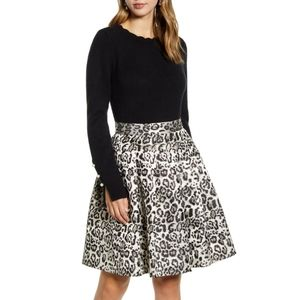NWT Rachel Parcell Scalloped Crewneck Sweater XS